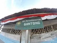Papan nama sekolah SD Muhammadiyah