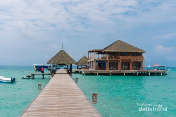 Dermaga Club Med Kani Maldives