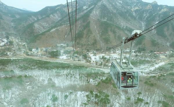 pemandangan dari cable car