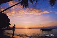 Indahnya sunset di Karimunjawa