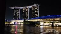 Keempat, kebanggaan SIngapura nih, Marina Bay Sands