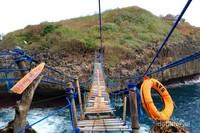 Jembatan Pulau Kalong, jembatan penantang adrenalin