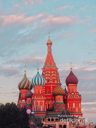 Aneka Bangunan Instagenik Sarat Sejarah di Moskow