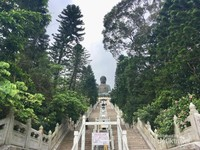 268 anak tangga menuju The Big Buddha