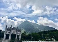Pemandangan disekitar situs The Big Buddha