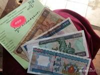 Tanda terima penitipan passport dari kantor imigrasi Myanmar