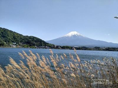 Gunung Fuji, Primadona Jepang yang Punya Pemandangan Ciamik