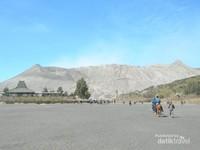 Menuju kawah Gunung Bromo