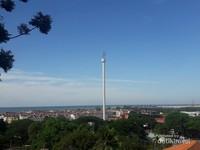 Memandangi Kota Melaka dari ketinggian