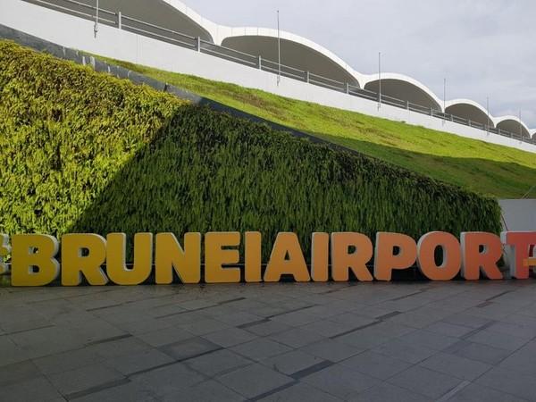 Depan Bandara Bandar Seri Bengawan