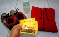 Persiapan perlengkapan menikmati pesona swastamita di Waduk Gunung Rowo