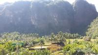 Kampung Berua, salah satu spot favorite dan menarik di Rammang-Rammang. Sangat indah.