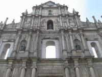 Reruntuhan Gereja St Paul