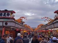 Pasar di Kuil Sensoji