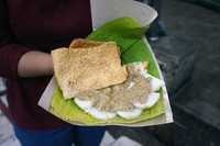 Cabuk Rambak cemilan favorit di Pasar Gede