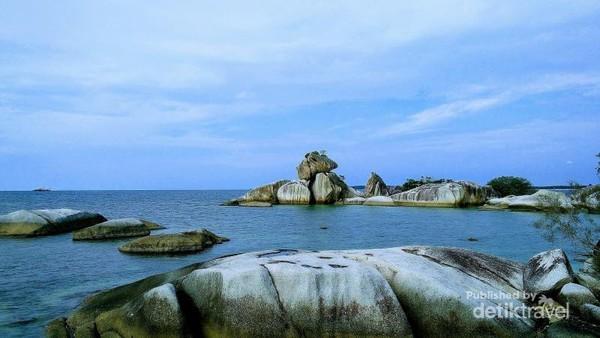 Panorama dari Pulau Lengkuas