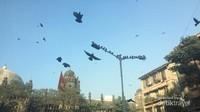 Sore hari di Mumbai