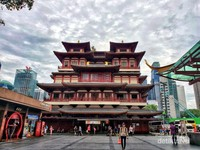Buddha Tooth Relic Temple  Museum di Chinatown