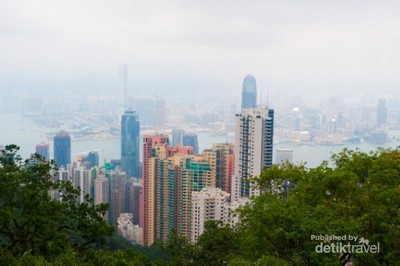 Indahnya Hong Kong dari Ketinggian Victoria Peak