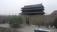 Salah satu gate masuk Xian City Wall