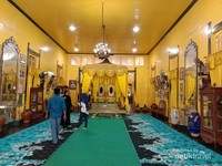 Tampak Bagian Dalam Istana Kadriyah