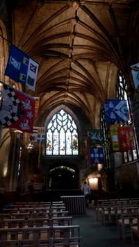 Preston Aisle, sebuah chapel gothic yang menawan di St Giles Cathedral