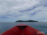 Pulau Nain,di ujung utara Taman Nasional Bunaken
