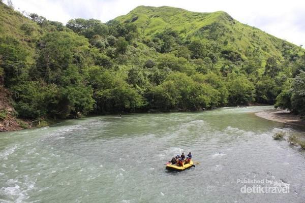 Pemandangan cantik pemandangan Bukit Jalin