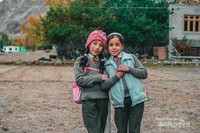 Cantiknya anak-anak di Turtuk