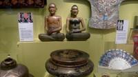 Salah satu koleksi National Museum of Scotland yang berasal dari Indonesia