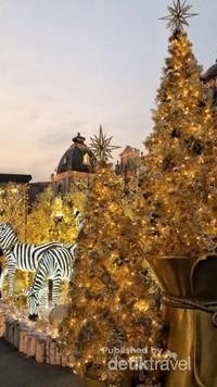 Suasana keindahan natal di setiap ichi Neverland, theme park terbesar milik Samsung di Korea