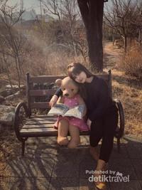 Berfoto dengan beruang teddy yang lucu di Teddy Bear Museum and Farm bisa menjadi alternatif liburan teman-teman juga loh