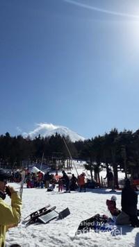 Ski Resort di Gunung Fuji