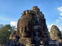 Ta Phrom Candi ikonik Angkor Wat yang dijadikan lokasi syuting film Hollywood Lara Croft: Tomb Raider