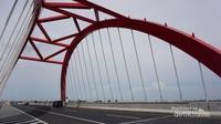 Jembatan Kali Kuto di Tol Trans Jawa yang keren dan megah