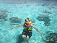 Snorkeling sekitar Pulau Liukang Loe