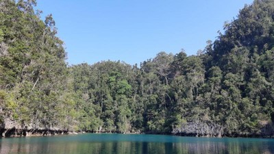 Danau Tobelo, Keindahan Tersembunyi di Pulau Labengki