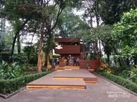 Arborea Cafe, Ada ditengah Hutan Kota Jakarta