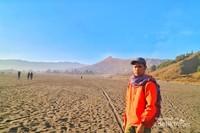 Padang pasir kawasan Bromo Tengger Semeru
