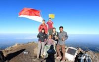2.851 mdpl adalah titik tertinggi dari Gunung Tambora
