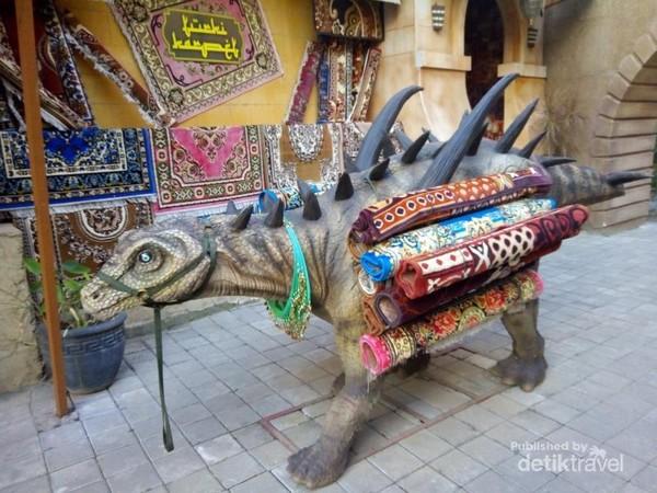 Dinosaurus apa yang dagang karpet?