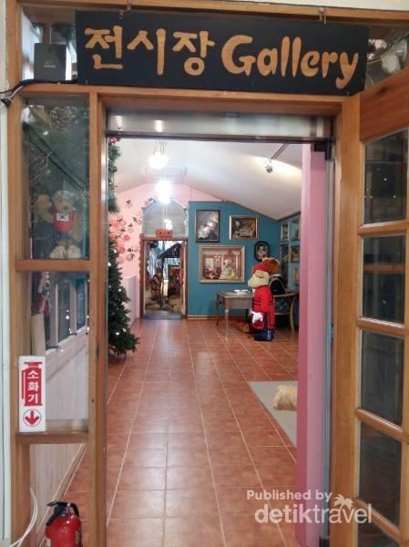 Pintu masuk Teddy Bear Museum