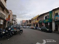 Penampakan Kota Tua Ipoh Beserta Bangunan Tuanya