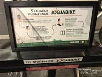 Lima Langkah mudah pakai Jogjabike