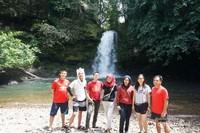 Bersama teman di Riam Ampang Kabupaten Bengkayang Provinsi Kalimantan Barat