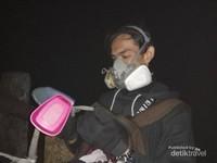Pakai masker biar aman