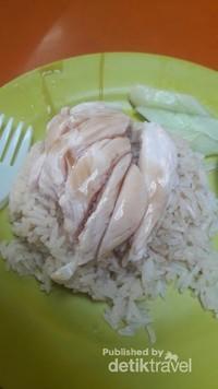 Chicken Rice seharga 3,5 dolar