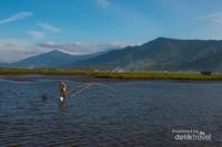 aktivitas masyarakat di danau Kerinci