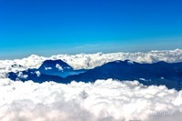 Pemandangan dari Puncak Gunung kerinci