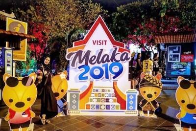 Heningnya Malam di Kota Tua Melaka